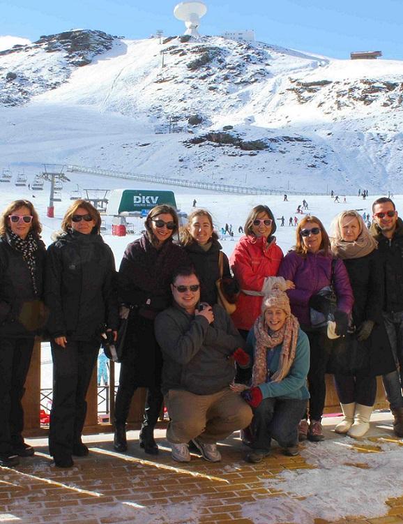 Promotores de congresos británicos y agentes rusos  de viajes coinciden en la promoción de Sierra Nevada