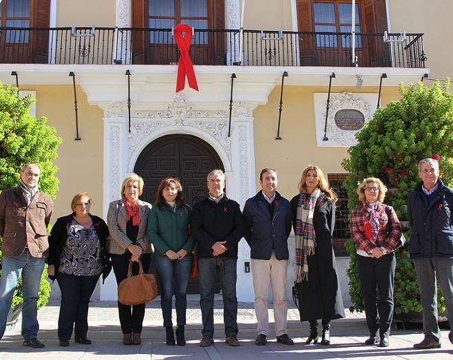 Motril se suma al Día Internacional de la Lucha contra el SIDA
