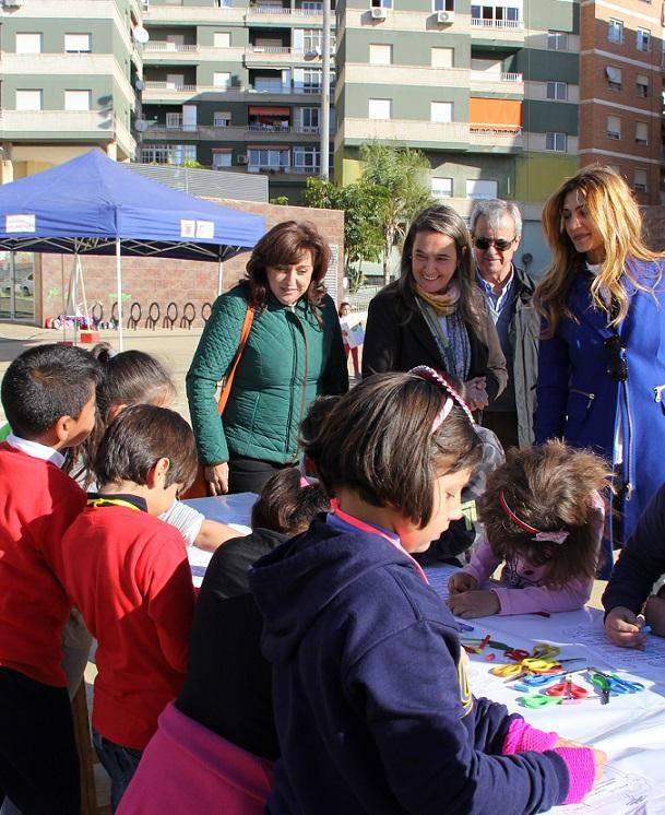 Escolares motrileños viven una jornada lúdica para fomentar la integración de las personas con discapacidad