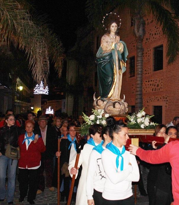 El barrio almuñequero de la Carrera de la Concepción celebra desde este viernes sus fiestas patronales