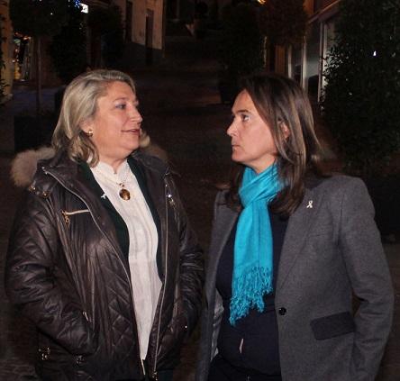 Luisa García Chamorro visita las obras del PFEA en Almuñécar