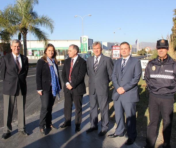 El Gobierno de España intervine en el asfaltado de casi dos kilómetros de la carretera de la Celulosa