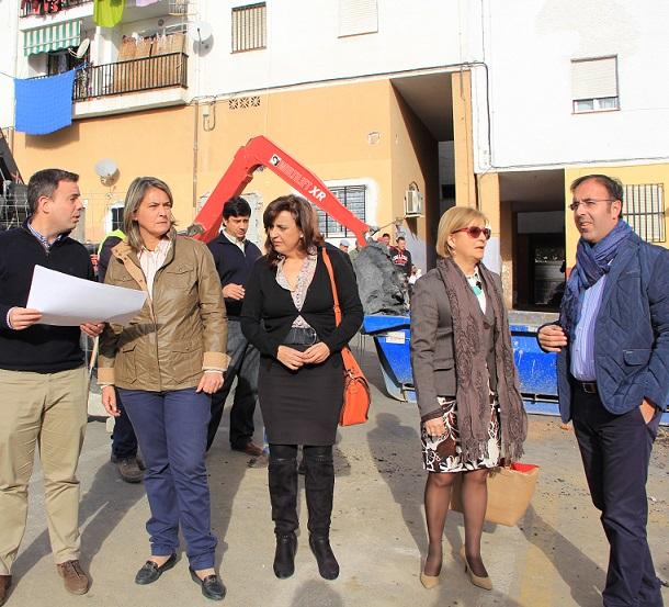 En marcha las obras de la pista polideportiva para los vecinos de Huerta Carrasco