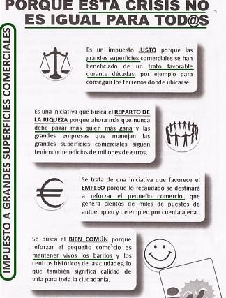 IU de Almuñécar inicia una campaña de apoyo al pequeño comercio