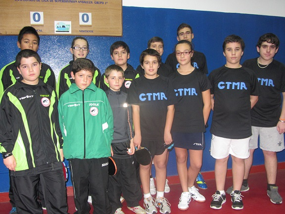 Buena jornada liguera del CTM Almuñécar de Tenis de Mesa