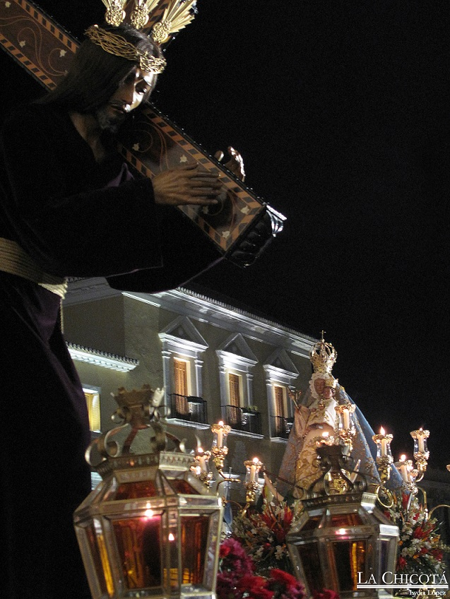 Motril culminó el voto de la Ciudad con el traslado de la patrona a su santuario