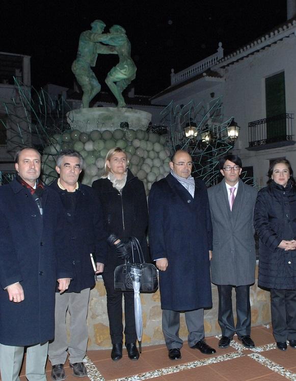Torvizcón celebra sus fiestas inaugurando la nueva Fuente de la Vendimia