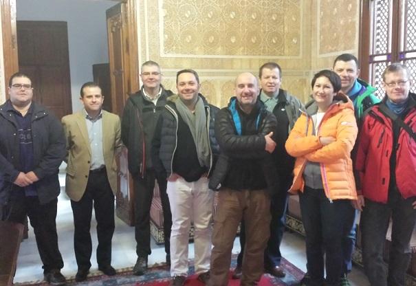 Periodistas de medios turísticos  polacos conocieron Almuñécar