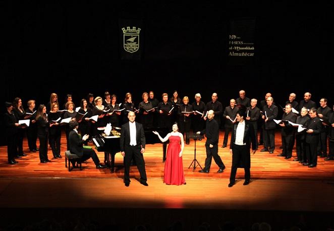 Almuñécar rindió un brillante homenaje a Verdi