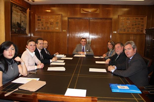 Reunión con el director general de la Marina Mercante para tratar la línea marítima Motril- Melilla