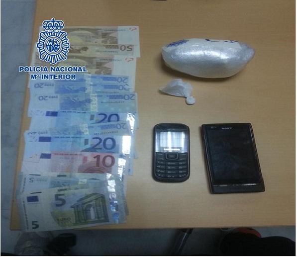 Localizado en controles preventivitos de la delincuencia en Motril