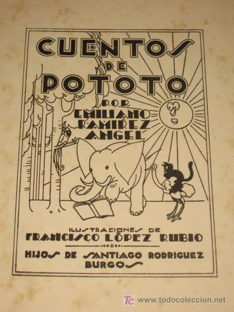 El hermano de José López Rubio, Francisco, homenajeado por sus dibujos