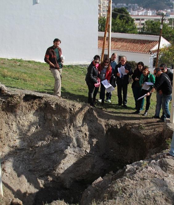 La necrópolis fenicio púnica de Puente de Noy abrió el programa mensual de visitas