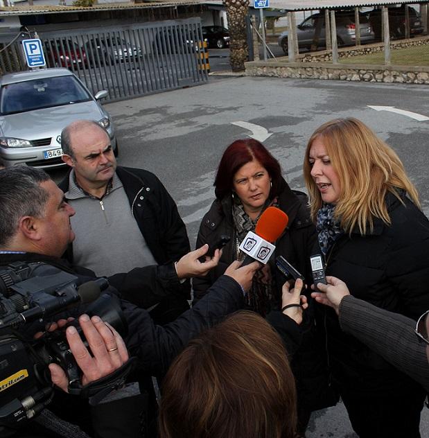 El PSOE pedirá la ampliación de las líneas de transporte de mercancías para dar salida a los productos de la Costa