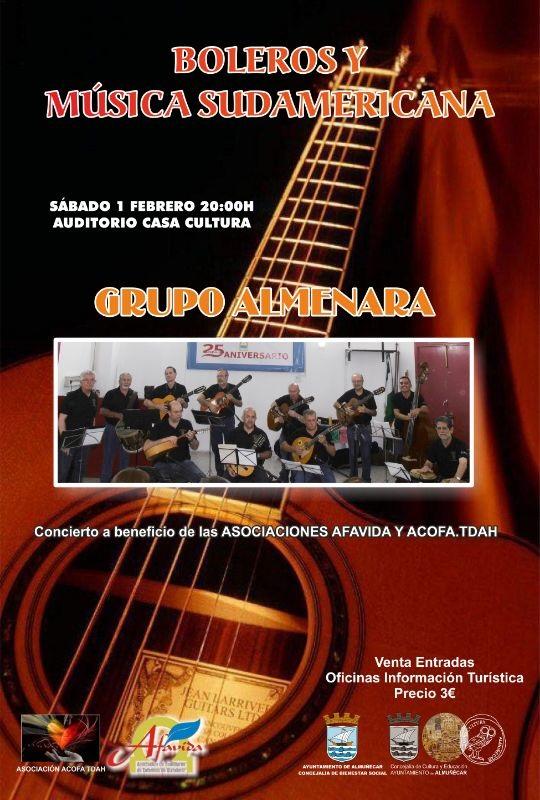 Almuñécar celebra un concierto benéfico para ayudar a los colectivos sociales Afavida y Acofa Tdah