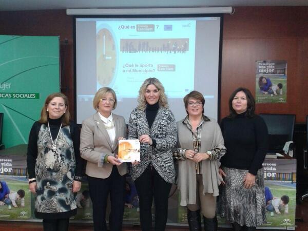 La coordinadora del Instituto Andaluz de la Mujer participa en Motril en una jornada de difusión del Programa CONCIL-IAM