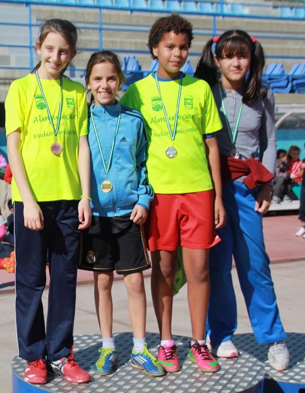 Almuñécar comienza los II Juegos Escolares de Atletismo con los centros de la Antigua y La Noria