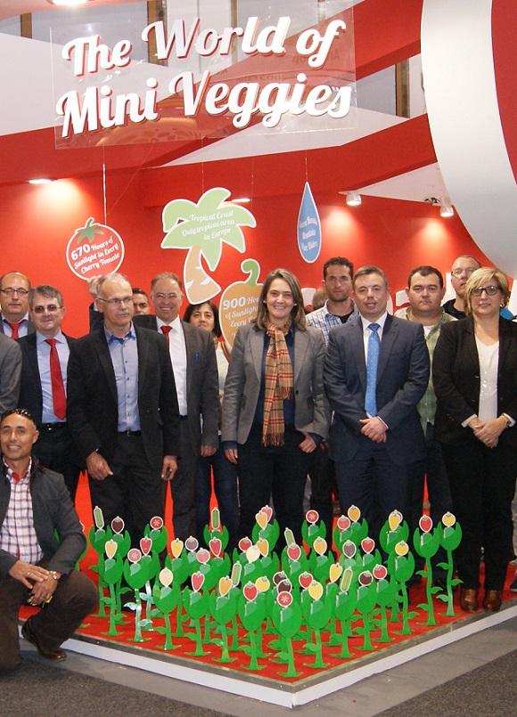 Motril apoya al sector agrícola de la Costa en la feria internacional Fruit Logística