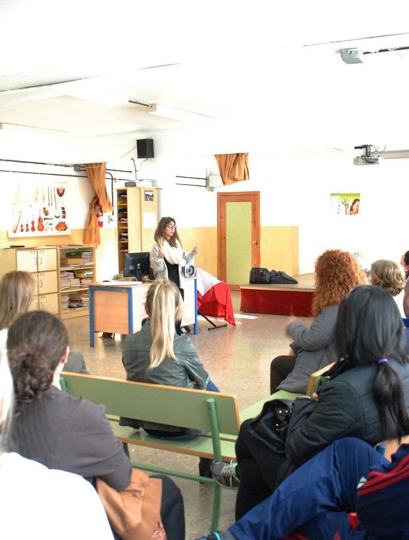 El colegio Cardenal Belluga recibe la segunda visita del proyecto Come Sano