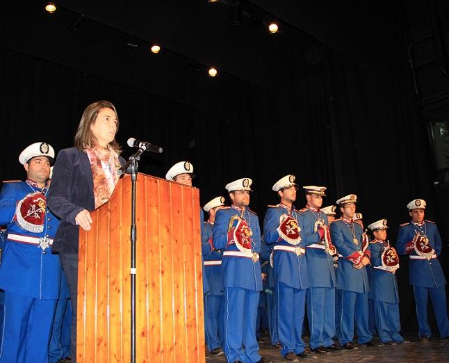 Los cofrades de la Borriquita rinden homenaje a Cecilio Arcas con un recital de marchas procesionales