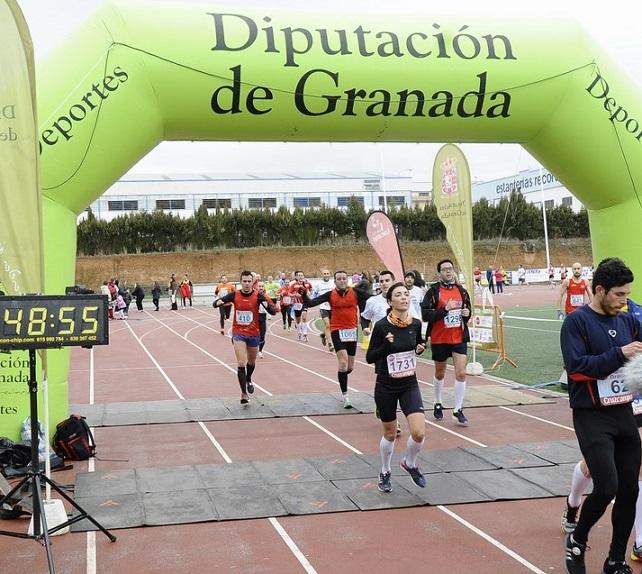 El Club de Atletismo Sexitano participó con media docena de corredores en la XXII Prueba Villa de Albolote