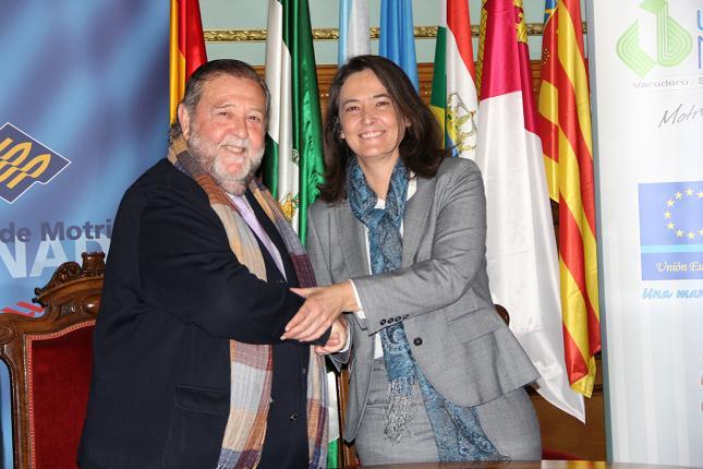 La alcaldesa de Motril desea suerte a Díaz Sol en su nueva etapa