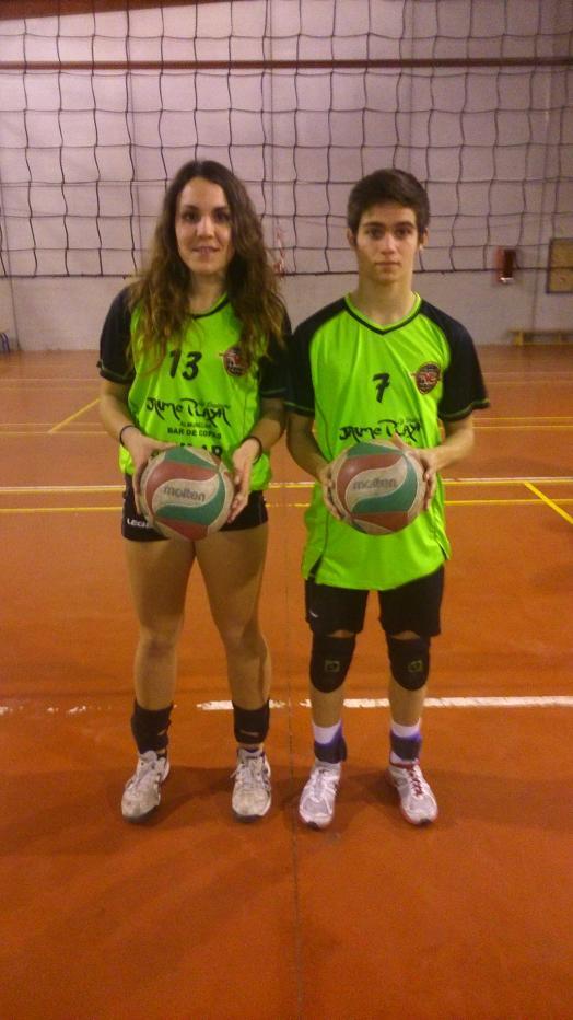 Seleccionados dos jugadores del CV Almuñécar para la selección provincial