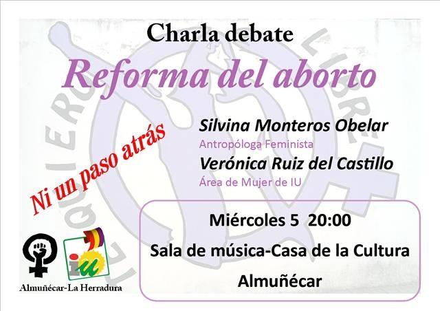 IU Almuñécar organiza una charla-debate para conmemorar el Día de la Mujer Trabajadora