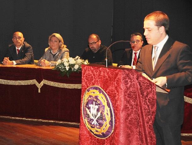 Rodríguez Jiménez-Curiel ofreció un bello y sentido pregón a la Semana Santa sexitana 2014