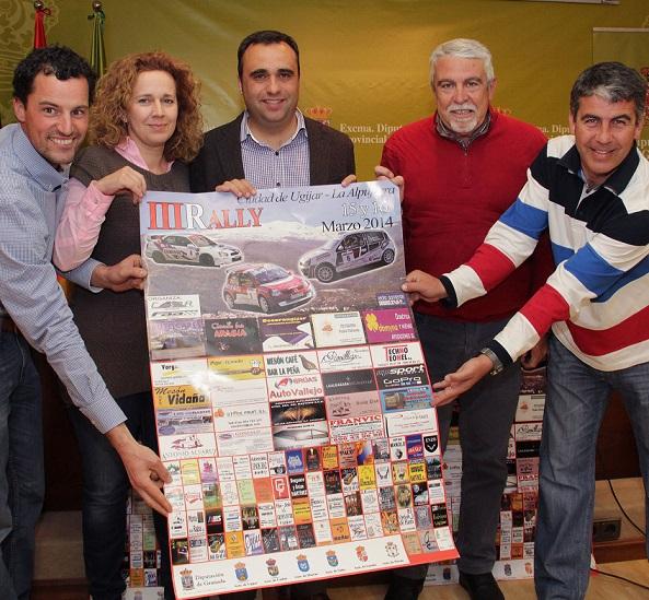 Todo a punto para el Rally Ciudad de Ugíjar, puntuable para el Campeonato de Andalucía