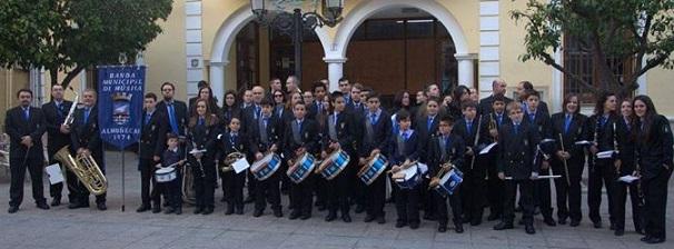 La Banda Municipal de Música de Almuñécar dará el concierto de San José en La Herradura