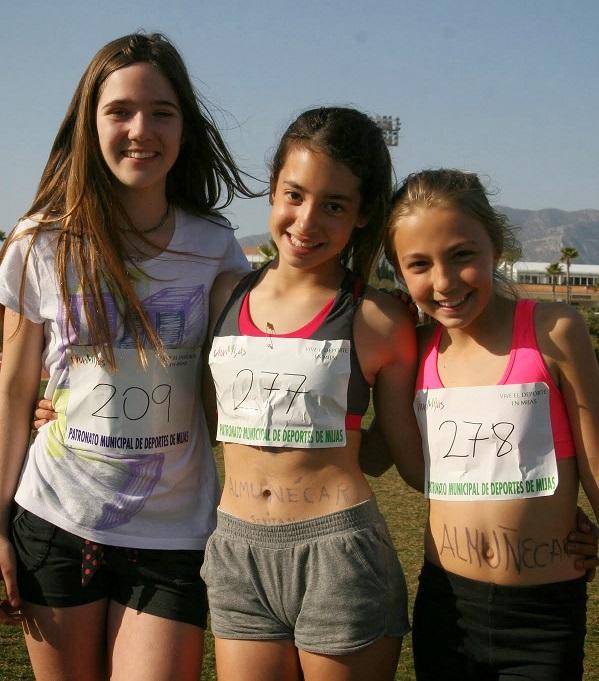El Club Atletismo Sexitano consigue hasta quince podios en el Circuito de Atletismo Popular de Málaga