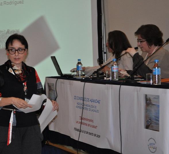 Profesionales del Área de Gestión Sanitaria Sur de Granada obtienen el premio a la mejor comunicación oral en el Congreso de ASANDAS
