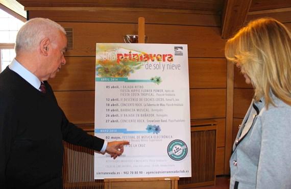 Sierra Nevada saca a la venta 3.000 forfaits para esquiar después de Semana Santa a 20 euros