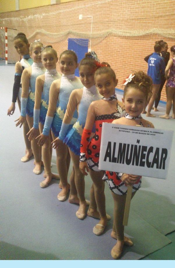 La Escuela de Gimnasia Rítmica de Almuñécar arranca con dos podios el Torneo Al Andalus