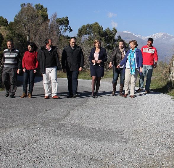 Diputación arreglará la carretera entre Los Guájares y Pinos del Valle