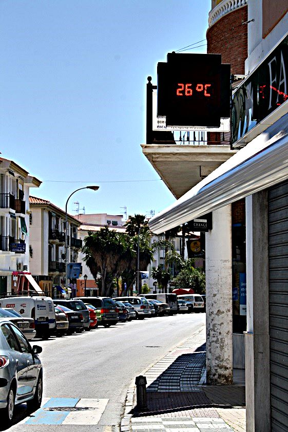 Con 26º de temperatura se alcanza la máxima del año en la Costa Tropical