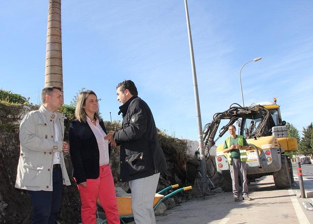 Las obras de la Alcoholera garantizarán la seguridad en la zona de aparcamiento público que seguirá siendo libre