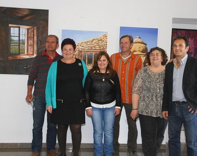 Órgiva acoge una muestra de pintura de 4 artistas de la Costa Tropical