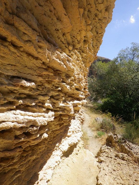 El Patronato de Deportes de Almuñécar prepara una salida por los tajos del cañón del río Cacín