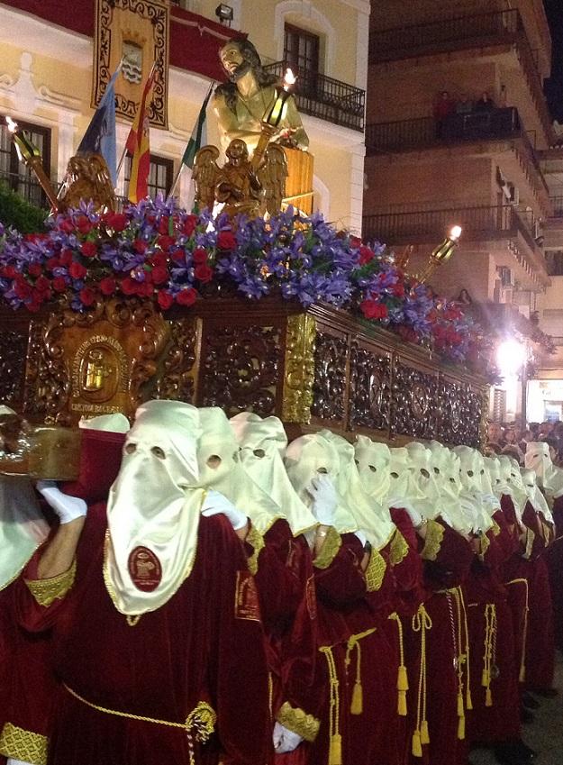 Devoción y saetas al Moreno en el Martes Santo sexitano