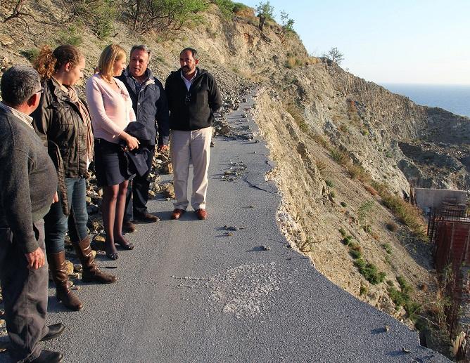 La Diputación ejecutará una variante de nuevo trazado en la carretera de Polopos