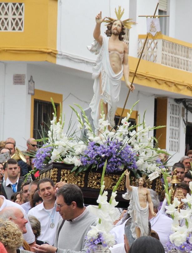 La Herradura  completó su programa de Semana Santa 2014 con la procesión del Resucitado