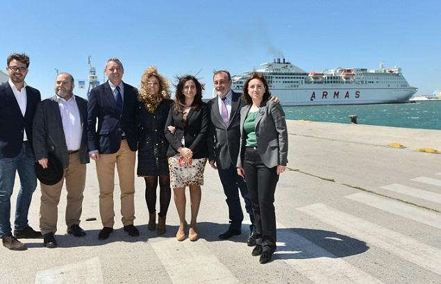 La Junta destaca el potencial del Puerto de Motril para el impulso económico de la provincia
