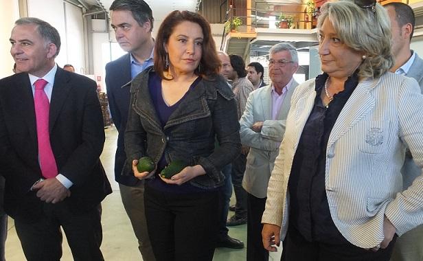 La alcaldesa de Almuñécar afirma  que las medidas fiscales para los agricultores de subtropicales tendrán una repercusión en la economía local