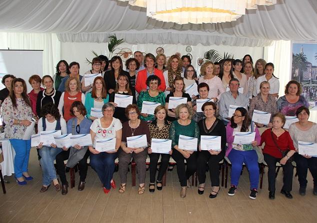 El proyecto 'Mujeres liderando espacios' forma a un centenar de motrileñas en habilidades para el empoderamiento
