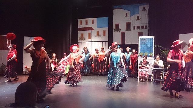 Los mayores de Salobreña, Lobres y La Caleta celebran su fiesta de la primavera