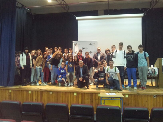 La Facultad de Ciencias Sociales de Melilla presenta sus titulaciones en institutos de Motril