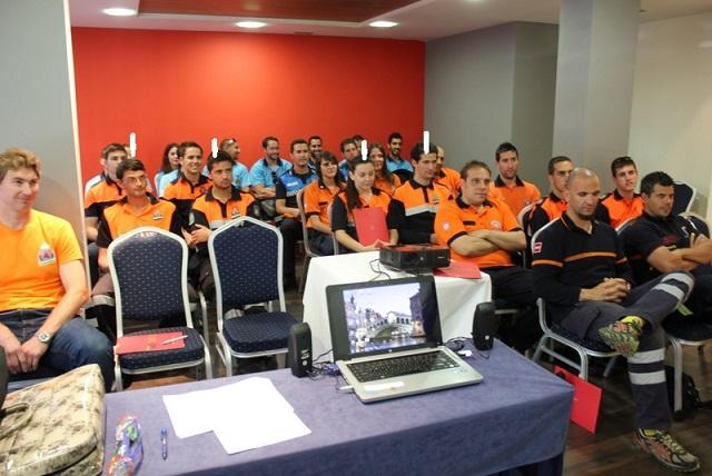 Los Voluntarios de Protección Civil de Almuñécar realizaron un curso de Rescate y Salvamento Acuático