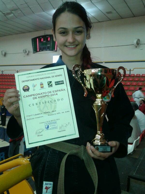 El  kenpo  sexitano consigue un nuevo éxito en el Campeonato Nacional  celebrado en Linares
